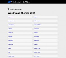 Nexus themes